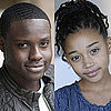 The Hunger Games Casts Rue and Thresh
