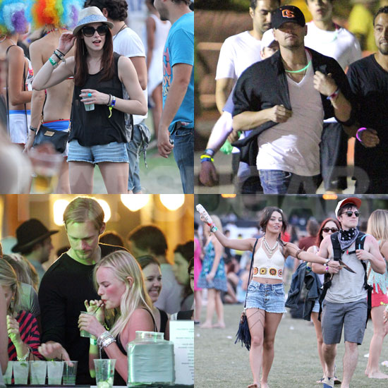 Celebrities at Coachella 2011