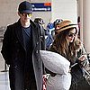 Pictures of Hayden Christensen and Rachel Bilson Leaving LAX Together Following Their Reported Split