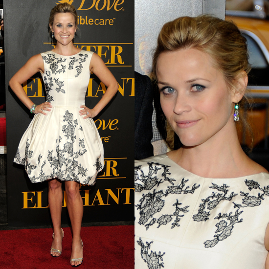 Reese Witherspoon Chooses Jason Wu Fall '11 Runway Look For Water For Elephants Premiere
