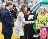 Kate Middleton showed off her pancake flipping skills during an appearance with Prince William in Belfast, Ireland, in March 2011.