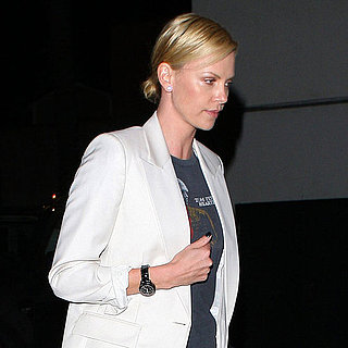 Pictures of Charlize Theron at Colony in LA