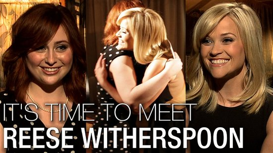 Reese Witherspoon I'm a Huge Fan: The Big Interview on Robert, Love, and Life Lessons!