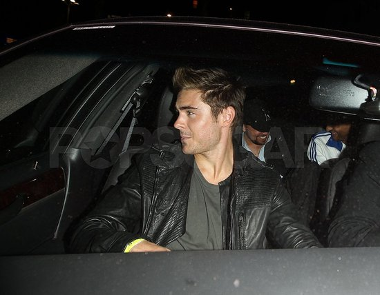 Zac Efron Skips Coachella and Goes to Plan B