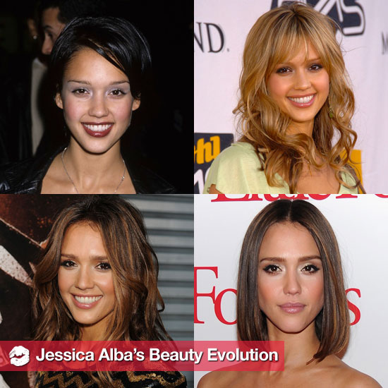 See Jessica Alba's Beauty Evolution