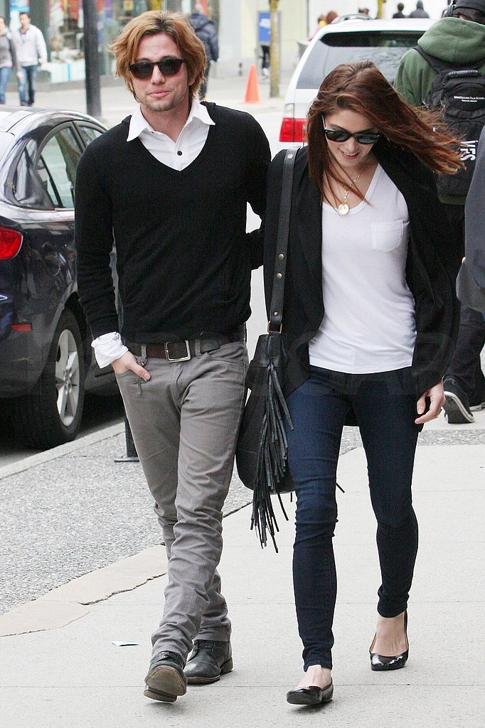 Ashley Greene Sticks Close to Jackson Rathbone to Enjoy the End of Breaking Dawn