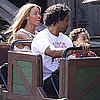 Beyonce Knowles at Euro Disney
