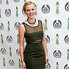 Amy Smart Engaged Diamond Ring Pictures