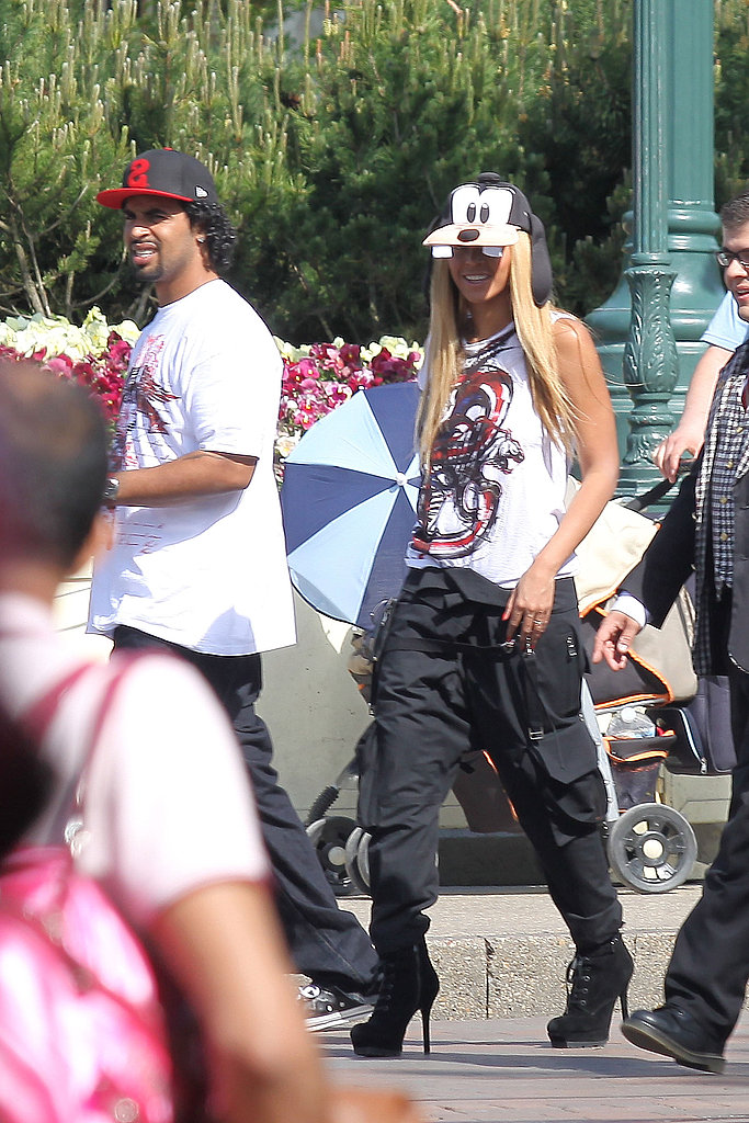 Beyoncé Brings Her Nephew Julez For a Day of Rides, Games, and Fun at Disney!