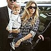 Gisele Bundchen and Benjamin Brady Pictures at LAX