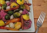 Marinated Springtime Baby Vegetables