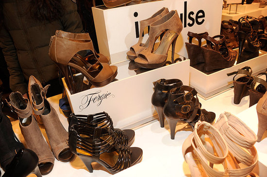 Fergie Debuts Spring Shoe Collection