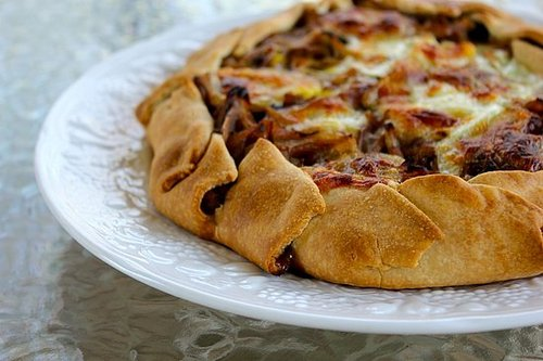 Easy, elegant onion tart