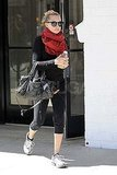 Nicole Richie Makes a Red-Hot Return to the Gym