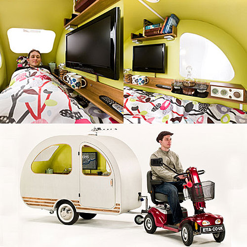 Mini Camper For Royal Wedding Senior Citizens