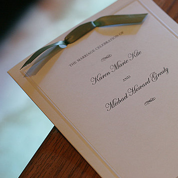 Modern Wedding Invitation Etiquette