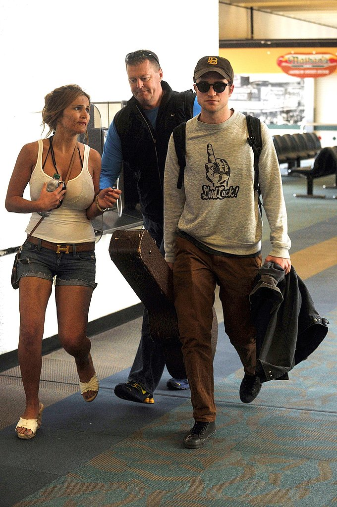 Robert Pattinson Heads to Berlin For Water For Elephants International Press Duties!
