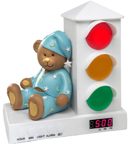 Stoplight Sleep Enhancing Clock ($40)