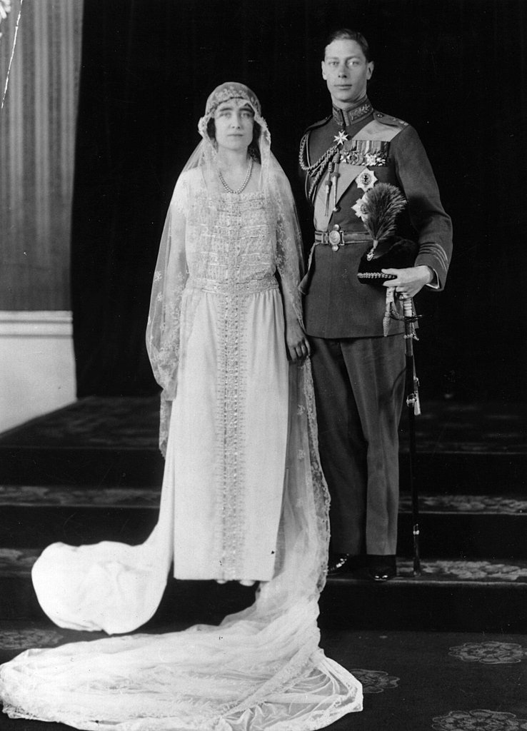 April 26, 1923: Prince Albert and Lady Elizabeth Bowes-Lyon