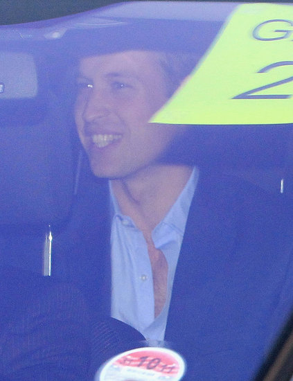 Prince William Smiles Big on His Way to a Wedding Rehearsal