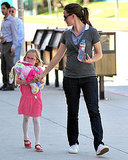 Jennifer Garner Takes Favorite Mom PopSugar100 Lead With Violet by Her Side