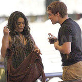 Josh Hutcherson Debuts Blonder Hunger Games Hair on PDA-Filled Date With Vanessa Hudgens