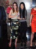 Leighton Meester and Vera Wang Light Up NYC to Help Fight Leukemia