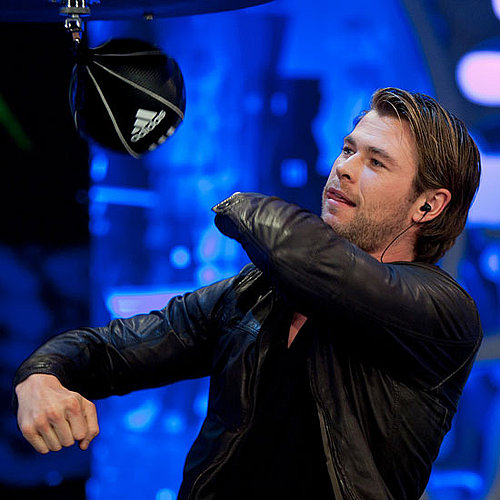 Thor Star Chris Hemsworth on El Hormiguero in Spain