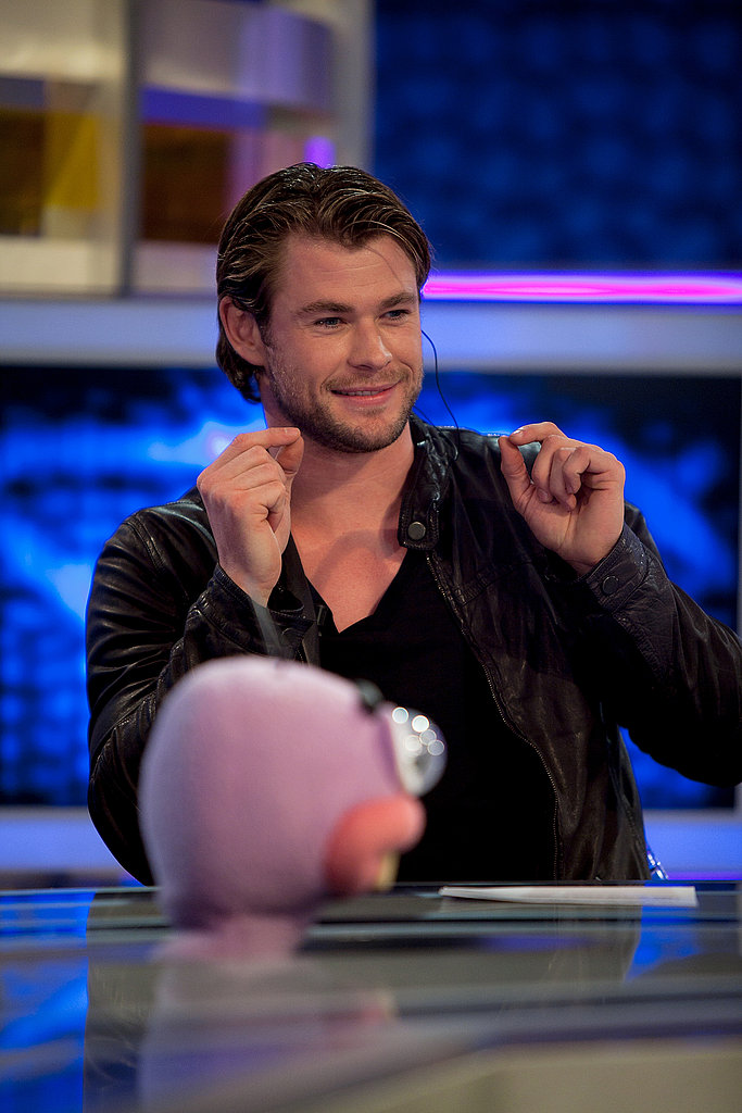 Thor's Chris Hemsworth Tackles Spanish TV and Other Hot Stars in the PopSugar 100