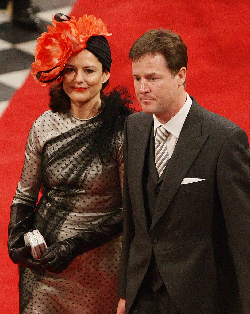 Deputy Prime Minister Nick Clegg and His Wife Miriam Gonzalez Durantez