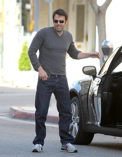 Ben Affleck Flashes a Sexy Smile as He Steps Out of His Hot Ride