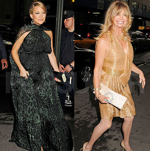 Kate Hudson and Goldie Hawn Attend Hawn Foundation Event in NYC