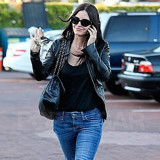 Courteney Cox Arriving For Lunch at Nobu Malibu