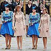 Royal Wedding Guest Pictures: Princess Beatrice and Princess Eugenie