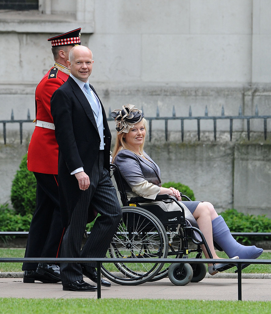British Foreign Secretary William Hague and wife Ffion Hague