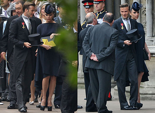 David and Victoria Beckham at Royal Wedding 2011-04-29 01:32:27