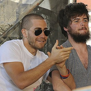 Pictures of Jake Gyllenhaal Chilling With Mumford and Sons' Winston Marshall