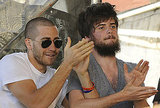 Jake Gyllenhaal Rocks Out With His Mumford & Sons Bud