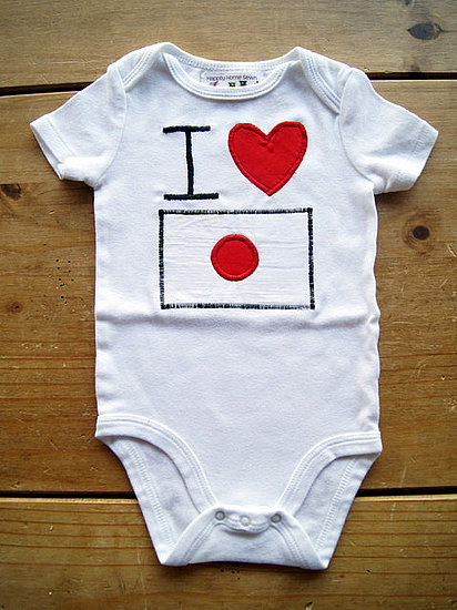 I Heart Japan Onesie ($18)