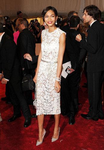 Chanel Iman in Dolce & Gabbana