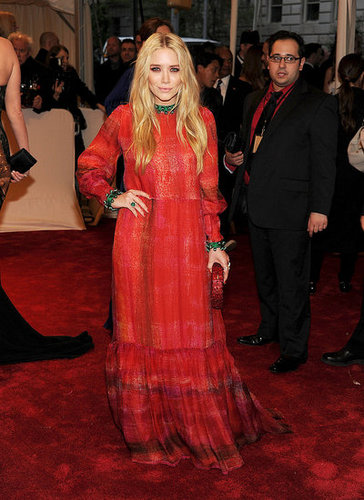 Mary-Kate Olsen in vintage Givenchy couture