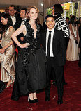 Mia Wasikowska in Thakoon, with the designer