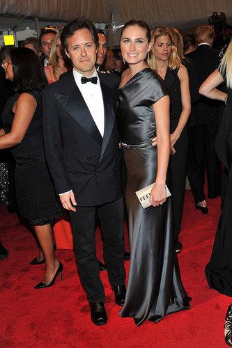 David Lauren and Lauren Bush, both in Ralph Lauren