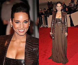 Alicia Keys at the 2011 Met Gala in Givenchy