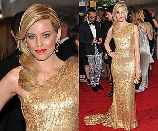 Elizabeth Banks in Tommy Hilfiger at the 2011 Met Gala