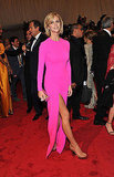 Brooklyn Decker Wears Bright Pink Michael Kors to Met Gala