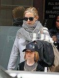 Kate Hudson Hits the Streets of NYC With Soon-to-Be Big Brother Ryder