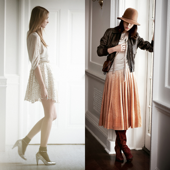 Club Monaco Channels Modern Bohemian Style For Its Fall Lookbook