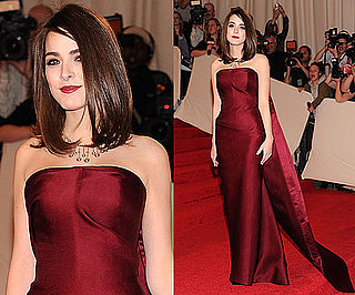 Bee Shaffer in Balenciaga 2011 Met Gala