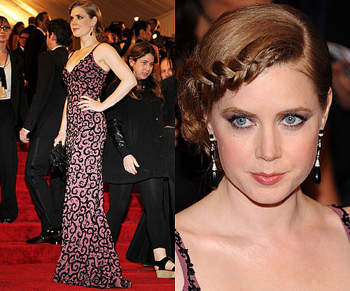 Amy Adams at the Met Gala 2011